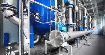 Production eau process avec recyclage